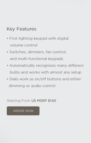 Metropolitan Keypad