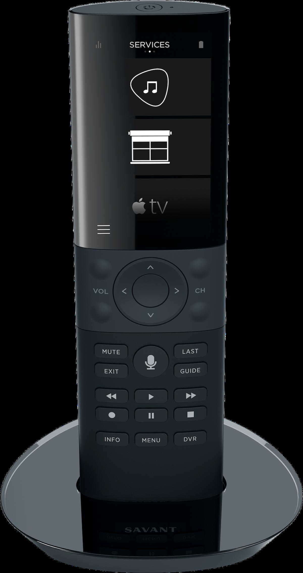 Savant Universal Remote SAV-REM-0100-01 Black