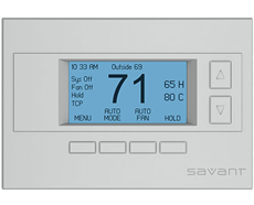 SAVANT WIRELESS THERMOSTAT